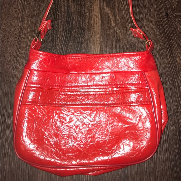 Handbags - Vintage Red Patent Leather Purse